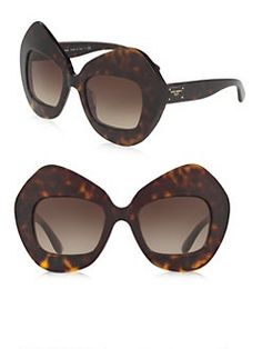 Dolce & Gabbana - 51MM Pentagonal Sunglasses
