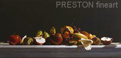 FRUIT by Larry Preston Oil ~ 15 x 30