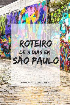 São Paulo: Roteiro para viagem de três dias. #saopaulo #roteiro #sp Sao Paulo Brazil, Brazil Travel, Ways To Travel, Travel Ideas, South America Travel, Central America, Solo Travel, Places To Go, Tours