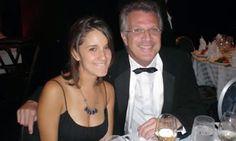 Sua Filha Ana e pai Pedro Bial