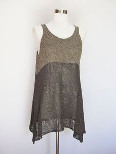 [][][] <3 Habu Textiles. YKIT-138B Liesl V. 2 By Coco Knits This version uses a wrapped silk on the top and paper cord yarn for the bottom.