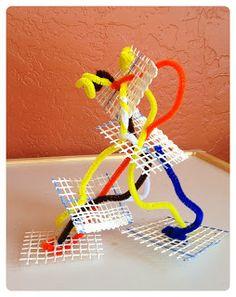3D Art. Gloucestershire Resource Centre http://www.grcltd.org/scrapstore/