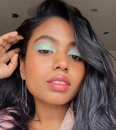 using the magic hour palette and soft glow highlighter in cosmic jasper Makeup Goals, Makeup Inspo, Makeup Art, Beauty Makeup, Eye Makeup, Hair Makeup, Makeup Ideas, Magic Hour, Stunning Makeup