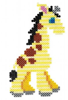 Giraffe Hama Beads Gift Set 3036