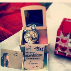 gift from his at my b'day....