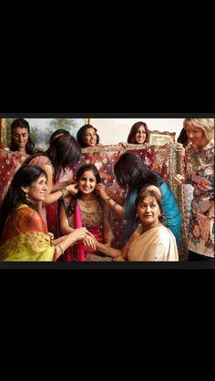 Chunni Ceremony Sikh Wedding