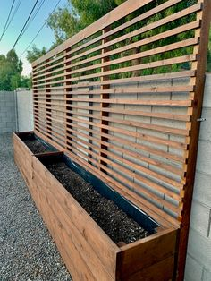 Privacy Planter, Backyard Privacy, Balcony Privacy Plants, Privacy Trellis, Patio Trellis, Privacy Screen Outdoor, Privacy Screens, Backyard Patio Designs, Backyard Landscaping