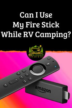 Did you know you can use your Amazon Fire Stick while RV camping? One of the best RV TV hacks we have found is to use a FireStick for live TV or we use the FireStick TV apps for specific shows. What a idea for watching TV while camping! #rvblogger #rvaccessories #rvgear #rvtechnology #firestick #amazonfirestick #rvtips #rvhacks #campingactivities #tvhacks #rvtvhacks
