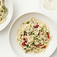Angel-Hair Pasta with Crab and Country Ham | Food & Wine
