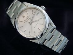 Mens Stainless Steel Rolex...