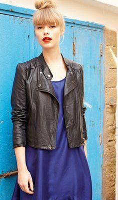 Leather jacket (Summer 2012) - Plümo Ltd