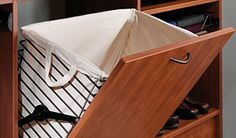 laundry basket in closet  Closet Organizers, Closet Organization, Closet Storage | Tailored Living