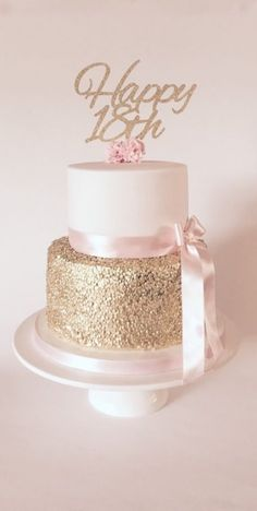 Pink gold sequin ladies birthday cake 2019 Pink gold sequin ladies birthday cake The post Pink gold sequin ladies birthday cake 2019 appeared first on Birthday ideas. 16th Birthday Cake For Girls, Birthday Cake For Women Elegant, Birthday Cake Roses, Sweet 16 Birthday Cake, Birthday Parties, 50th Birthday, 40th Birthday Party Ideas For Women, Elegant Birthday Cakes, 18th Cake