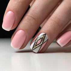 Patterned Prom Nails Art picture 1