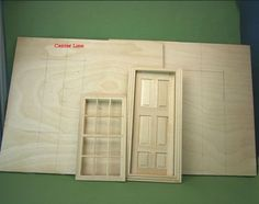 Make a Simple Dolls House Roombox from Baltic Birch Plywood: Measure For Windows and Doors In Your Roombox Dollhouse Miniature Tutorials, Miniature Rooms, Miniature Crafts, Miniature Houses, Miniature Furniture, Diy Dollhouse, Dollhouse Furniture, Dollhouse Miniatures, Dollhouse Windows