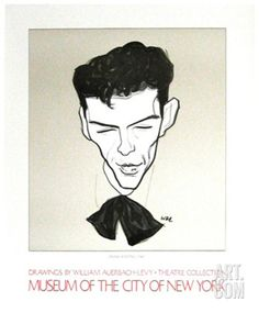 william auerbach-levy caricature of frank sinatra