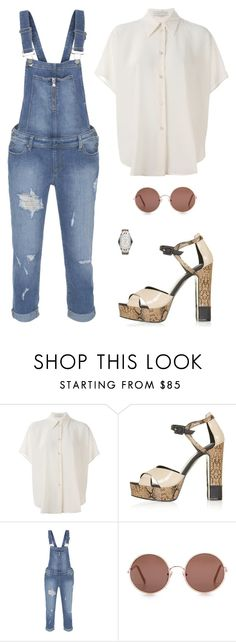 """Untitled #3597"" by antonellac15 ❤ liked on Polyvore featuring STELLA McCARTNEY, Topshop, Paige Denim, Sunday Somewhere and Emporio Armani"
