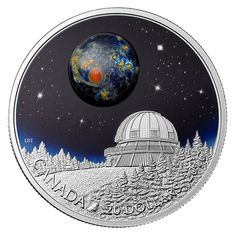 1 oz. Fine Silver Coin – The Universe – Mintage: 8,500 (2016)