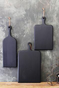 Black Oak Chopping Board - 3 Sizes Available