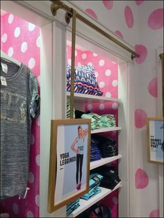 There was little clue to full use of overhead pipet this Bar Hung Signage below. Only one was spotted storewide at Victoria's Secrets Sale Signage, Retail Fixtures, Shop Sale, Point Of Sale, Hanging Signs, Visual Merchandising, Projects To Try, Polka Dots, Victoria's Secret