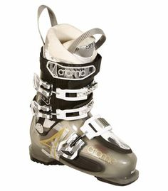 bf598a4c63 Bottes de ski alpin Chausson asymétrique Coque et tige renforcées en  carbone Technologie Free Lock pour faciliter la marche 3 boucles micro-.