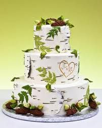 I have a cake saved in a magazine that looks almost like this. It is not only a maybe but he cake for me! The one I have saved is a little thinner and taller. I plan to put birds on the top. Love birds :)