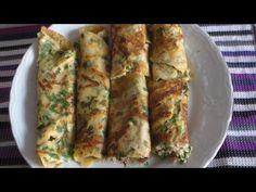 Kahvaltılık Börek Tadında Krep Tarifi - YouTube
