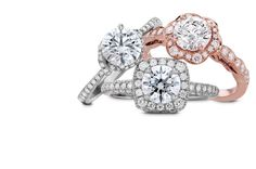 Hearts On Fire Diamond Engagement Rings...we dont need to say more. #CrescentJewelers @hearts