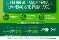 farmácia Avenida- Vitória - ES - Telefone/Endereço | . Mensagens Diversificadas. MD.