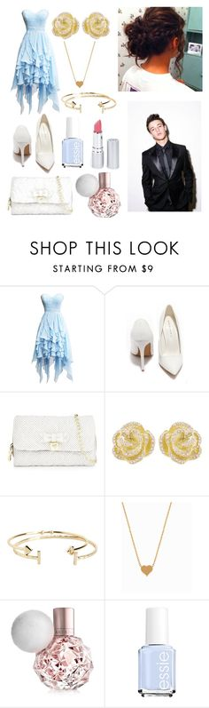 """Prom with Cameron!"" by one-direction-tumblr-girl ❤ liked on Polyvore featuring Shoe Republic LA, Betsey Johnson, Effy Jewelry, Aéropostale, Minnie Grace, Essie, HoneyBee Gardens, women's clothing, women and female"