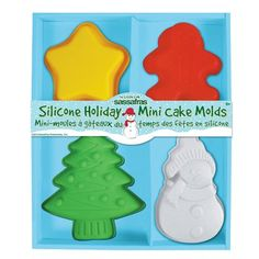 Take a look at this Sassafras Holiday Silicone Mini Cake Mold Set on zulily today! Indian Cake, Buckwheat Cake, Rhubarb Cake, Classic Cake, Cake Boss, Savoury Cake, Baking Pans, Mini Cakes, Tiered Cakes