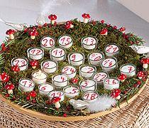 Kerzen-Adventskalender