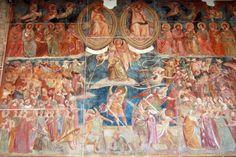 Buonamico Buffalmacco, Last Judgment fresco - Campo Santo in Pisa