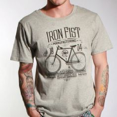 Street Cycling Man SS Tee