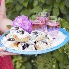 Blåbärs- och vaniljbullar - Recept från Mitt kök - Mitt Kök   Recept   Mat   Bloggar   Vin   Öl