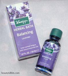 Kneipp Herbal Bath Balancing Lavender, BNUB 20ML // pend @racheloliverhal