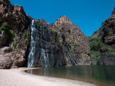Twin Falls, Kakadu National Park, Northern-Territory, Australia - just getting to the falls is such an amazing trip! So beautiful.