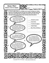 Martin Luther King Jr. Worksheets, Civil Rights Activities match the quotes.