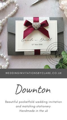 Maroon Wedding, Gold Wedding, Red Color Schemes, Bespoke Wedding Invitations, Bespoke Design, Luxury Wedding, Grey And White, Burgundy, Stationery