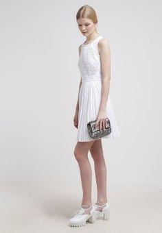 Derhy - PILOU - Cocktailkjole - blanc White Dress, 2015 Dresses, Sale 2015, Fashion, Dressed In White, Dress Ideas, Fashion Ideas, Moda, Fashion Styles