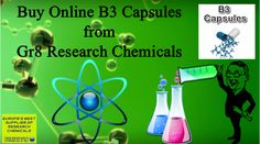 Buy Online B3 Capsules from Gr8 Research Chemicals