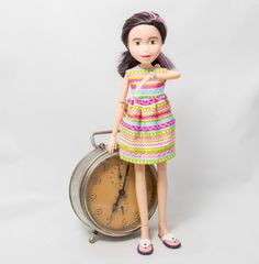 Upcycled doll Cadence, repainted, recycled, upcycled doll, bratz, makeunder doll, upcycled bratz doll, bratz makeunder, makeunder, repainted Geek Squad, Bratz Doll, Old Dolls, My Childhood, Upcycle, Recycling, Disney Princess, Trending Outfits, Children