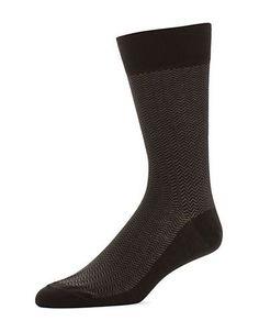 Black Brown 1826 Dress Socks Men's Black