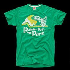 Vintage Rainier National Park T-Shirt