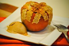 Bakeaway with Me: Apple Pie in an Apple…a Fun Recipe