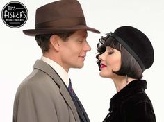 Miss Fisher and Jack - Australian TV Shows Murder Mysteries, Cozy Mysteries, Miss Fisher, Detective Shows, Mystery Dinner, Music Photo, Period Dramas, Best Tv, Manga