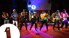 Bruno performs 24K Magic in the Live Lounge for BBC Radio 1 and BBC Radio 1Xtra
