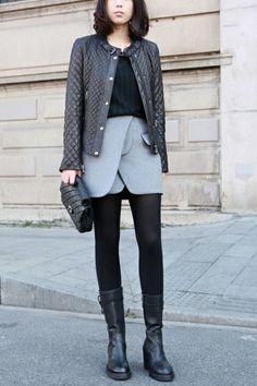 Blazer Design Skirt