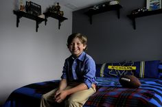 """Congrats to our alumni, Eli Baker who stars in this season's """"Growing Up Fisher"""" on NBC!!  Eleven-year-old Eli Bakler from Glastonbury, who was in Goodspeed and Hartford Stage productions, will be starring in a new NBC TV series titled """"Growing Up Fisher,"""" which will premiere right after the Winter Olympics in February. The football next to him was signed by executive producer/writer DJ Nash, director David Schwimmer, actor Jason Bateman and actor J.K Simmons. Jk Simmons, Broadway News, Jason Bateman, David Schwimmer, Nbc Tv, Famous Photos, Child Actors, Executive Producer, Growing Up"""