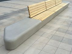 PANCHINA MODULARE IN GRC ARPA BY CONCRETE URBAN DESIGN | DESIGN REALGRÜN